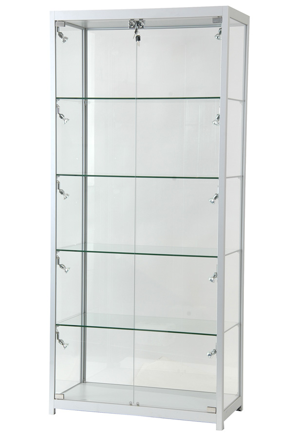 GLASS SHELVING CABINET LOCKABLE 1.8m x 0.8m x 0.4m.jpg